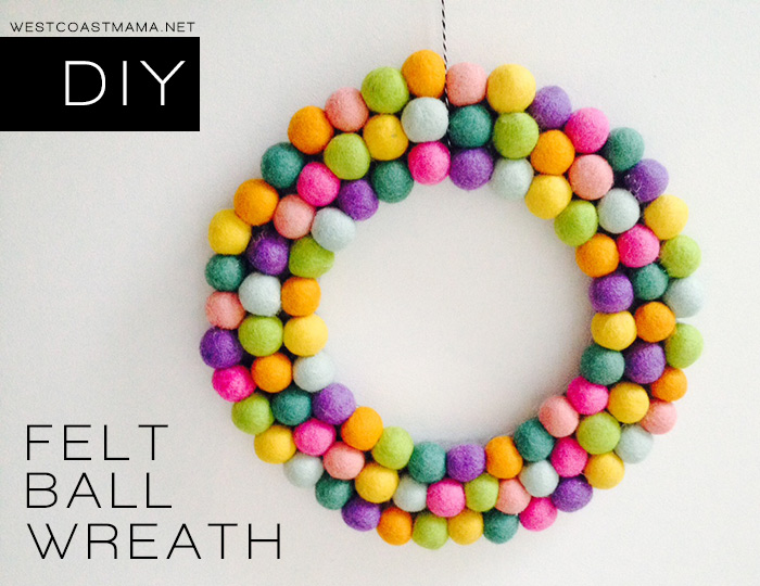 felt-ball-wreath-diy