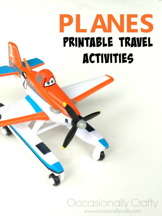 Planes Printable Travel Activities